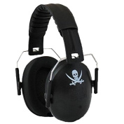 Safetots Baby and Children Ear Protectors Black Pirate