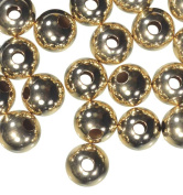 """6mm Gold Filled Bead with .065"""" Hole"""