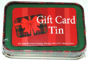 Lindy Bowman Christmas Holiday Gift Card Tin Box