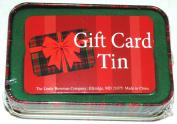 Lindy Bowman Christmas Holiday Gift Card Tin Box