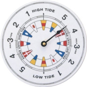 Tidetime Nautical Tide Clock - Flag Face