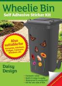 Wheelie Bin Self Adhesive Sticker Kit, Daisies Design