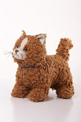 Dora Designs - Rice Pudding the Cat- The Woolly Cats Collection - Doorstop