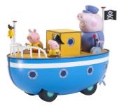 Peppa Pig On Grandpa's Boat