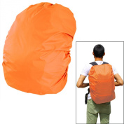 45 - 50 L Capacity Durable Camping Hiking Backpack Rucksack School Bag Waterproof Rainproof Bag Cover Orange