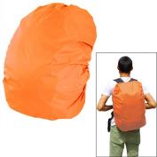 45 - 50 L Capacity Durable Camping Hiking Backpack Rucksack School Bag Waterproof Rainproof Bag Cover Orange