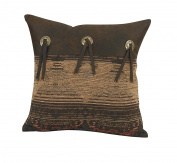 HiEnd Accents Sierra Accent Pillow with Conchos
