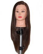 70cm - 70cm Cosmetology Mannequin Manikin Training Head with Synthentic Fibre