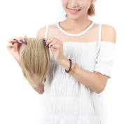"""Charming 8""""(20cm) Front Neat Ash Blonde Bangs/fringe Clip in Hair Extensions One Piece Striaght Fringe Cute Hairpiece Accessories Lady Favour"""