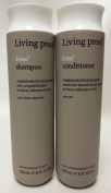 Living Proof No Frizz Shampoo 240ml and No Frizz Conditioner 240ml Duo