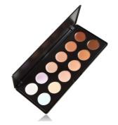 Eforstore 12 Colour Concealer Camouflage Makeup Palette Professional Contour Face Contouring Kit