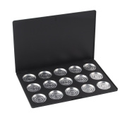 15 PCS 36mm Aluminium Empty Eyeshadow Pans with Palette