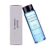 ACEVIVI Natural Facial Cleansing Oil Anti-Ageing Deep Cleansing Oil Useful Eye Makeup Remover 5.3 Fluid Ounces-120ml