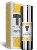 Vitamin C Serum with Hyaluronic Acid for Face; Reduce Wrinkles & Sun Spots; Natural and Organic; No Risk