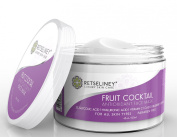 Retseliney Fruit Cocktail Antioxidant Face Mask, Spa Quality, Vegan, Facial Mask, Anti Ageing Mask for Face, with 5% Glycolic Acid, Vitamin C, Coenzymeq10, Jojoba Oil, Hyaluronic Acid, Rosehip Oil, Tamanu Oil, Acne Treatment, Face Scrub, Exfoliator, Cl ..