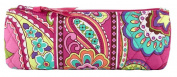 Vera Bradley Brush and Pencil Makeup Bag in Pink Swirls