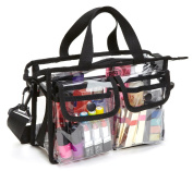 Seya Makeup Artist Clear PVC Set Bag w/ Removable Shoulder Strap