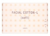 Albion Japan Facial Cotton-L [Soft] 120 Sheet