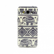 ABC® 2015, Fashion Blue Elephant Soft TPU Case Cover for Samsung Galaxy Grand Prime G530