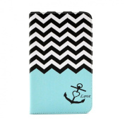 ABC®New Anchor Wallet Leather Case For Samsung Galaxy Tab 3 7.0 P3200 T210