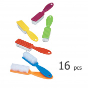 Pro Nail Scrub Brushes for Manicure Assorted Colours