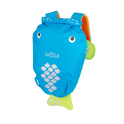 Trunki PaddlePak Back Pack - Water Resistent Kids Backpack (Bob), Blue