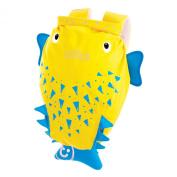 Trunki PaddlePak Backpack - Water Resistent Kids Backpack (Spike), Yellow
