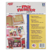 C-Line Memory Book 20cm x 20cm Scrapbook Page Protector Combo Kit, 15 Assorted Pages per Pack