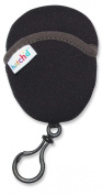 Hatch'd Neoprene Pacifier Egg, Black