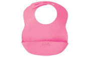 Summer Infant Bibbity Rinse and Roll Portable Bib, Pink - 2 Count
