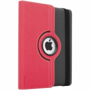 Targus Versavu Rotating Case and Stand for iPad 3 and 4, Charcoal Grey/Calypso Pink