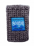Iced Blue & Heather Soapie, Soap Saver Soap Sack