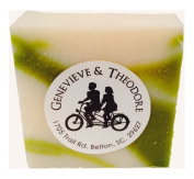 Genevieve & Theodore Aloe Squeeze Soap, Handcrafted 150ml Luxury Bar
