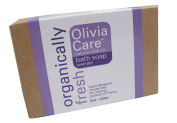 Olivia Care Organically Fresh Natural Olive Oil Bath Soap Lavender