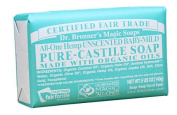 Dr. Bronner's Magic Soaps Pure-Castile Soap, All-One Unscented Baby-Mild, 150ml Bars