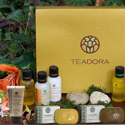 Teadora Deluxe Travel Size Essentials Gift Box