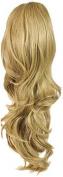 Press On Hair Ponytail Hair Extension, Nat Blonde, 90ml
