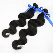60cm Remy Body Wave Hair 2Bundles 6A Unprocessed Indian Hair Weave Top Grade Indian Virgin Hair Extension Body Wave Human Hair