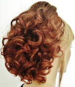 DAWN Clip On Hairpiece by Mona Lisa - 31T130 Auburn-Copper Red