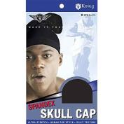 (3 Pack) King J - Spandex Skull Cap #076