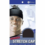 (3 Pack) King J -Spandex Stretch Cap #701
