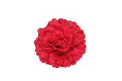 HH Building Women's Girls Bohemian Artificial Peony Flower Hair Clips Wedding Accessories HairClip Brooch Pin Barrettes Corsage