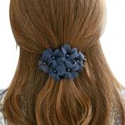 Sannysis Chic Women Girl Handmade Flower Barrette Hair Clip Hair Pin Claw