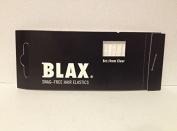Blax Snag Free Hair Elastics Ponytail Holders 4mm - Clear