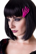 Banned Skeleton Hand Hair Clip