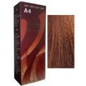 Berina Permanent Hair Dye Colour Colour Cream A04 Dark RED Brown Product of Thailand