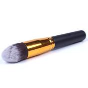 QINF Blush Brush Angled Kabuki Makeup Brush Premium Synthetic Contouring Cream, Powder Flawless Application Face Powder Brush
