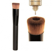 QINF M0245 1PCS Professional Soft Perfecting Face Brush Foundation Brush Blend Flat Concave Makeup Tool