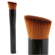QINF Perfect Multipurpose Angled Foundation Brush With Gift Brush Protector