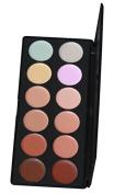 Amazing2015 12 Colour Concealer Camouflage Makeup Palette Professional Contour Face Contouring Kit